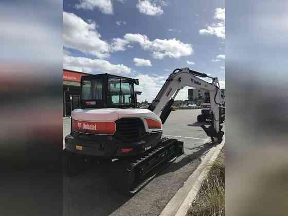 2019 Used Bobcat E85 Excavator Jacksonville, Florida