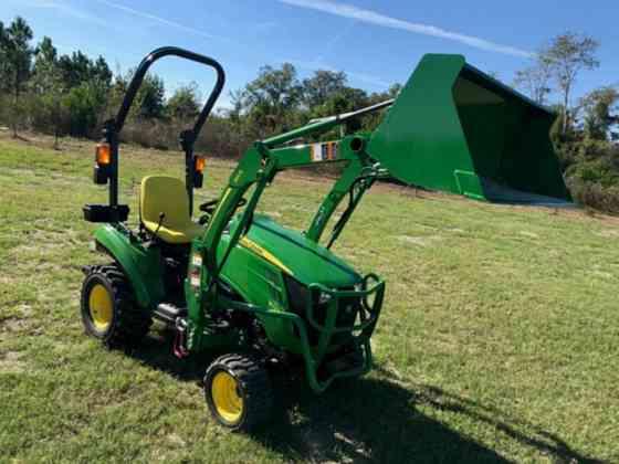 2021 Used John Deere 1023E Tractor Jacksonville, Florida