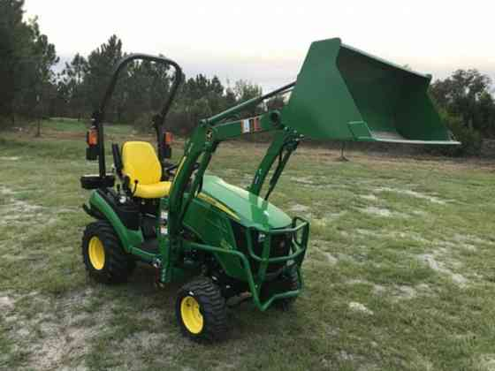 2021 Used John Deere 1025R Tractor Jacksonville, Florida