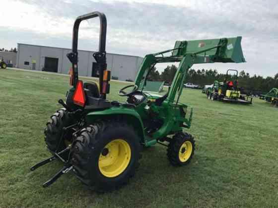 2021 Used John Deere 3025E Tractor Jacksonville, Florida