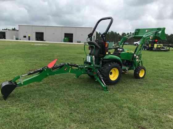 2021 Used John Deere 2025R TLB Tractor Jacksonville, Florida