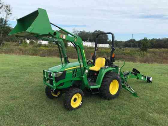 2021 Used John Deere 3025E TLB Tractor Jacksonville, Florida