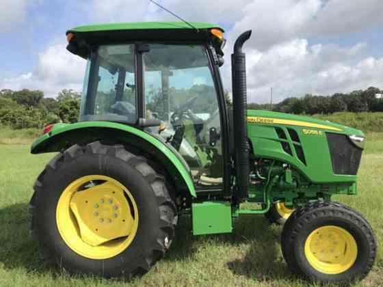 2021 Used John Deere 5055E Tractor Jacksonville, Florida