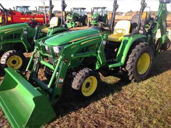 2020 Used John Deere 3038E Tractor Jacksonville, Florida