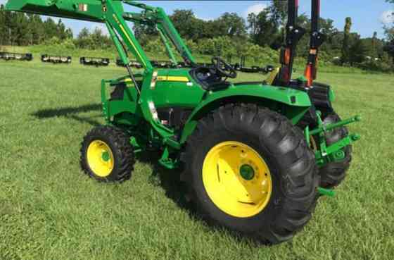 2021 Used John Deere 4052M Tractor Jacksonville, Florida