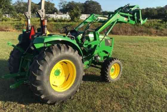 2021 Used John Deere 4044M Grapple Tractor Jacksonville, Florida