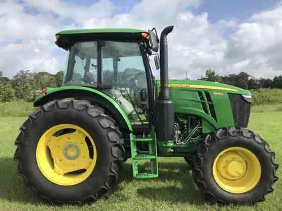 2020 Used John Deere 6105E Tractor Jacksonville, Florida