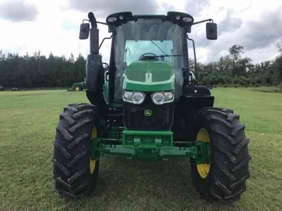 2020 Used John Deere 6110M Tractor Jacksonville, Florida