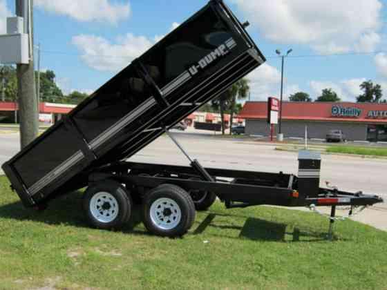2021 A U-DUMP 61210K Deck Over Dump Trailer Pro Series Ocala