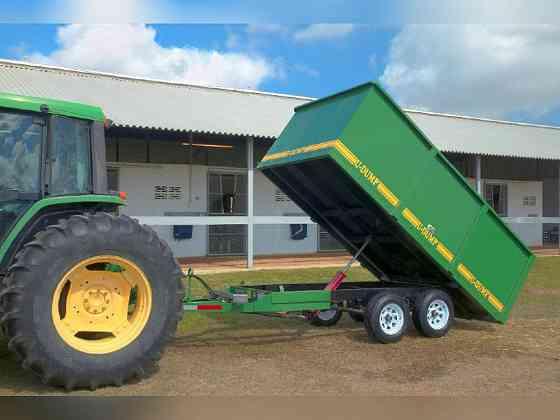 2021 A U-DUMP 6' X 12' Deck Over - Off Road Dump Trailer Ocala