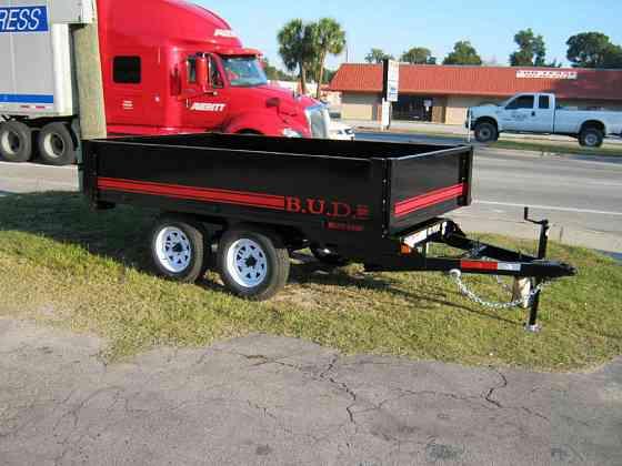 2021 A U-DUMP 6x10 7K Deckover Dump Trailer Pro Lite Ocala