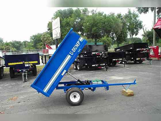2021 A U-DUMP ATV/UTV 4' x 6' Dump Trailer Ocala