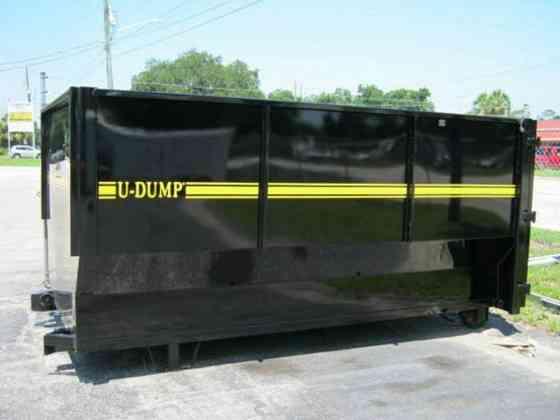 2021 A U-DUMP U-Dump 16 Yd Container Ocala