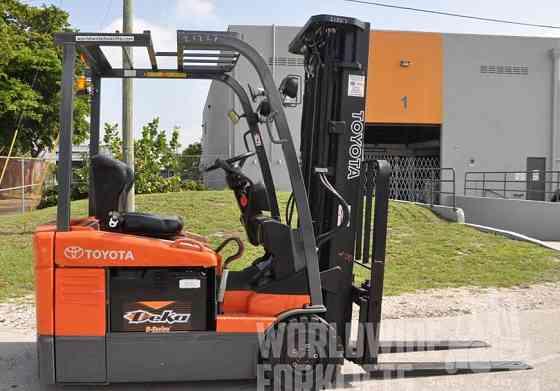New TOYOTA 7FBEU15 Forklift Fort Lauderdale