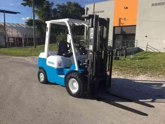 Used TOYOTA 7FGU25 Forklift Fort Lauderdale