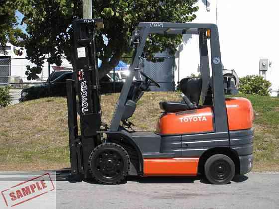 Used TOYOTA 42-6FGCU25 Forklift Fort Lauderdale