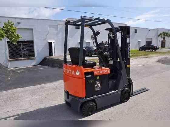 2009 Used TOYOTA 7FBCU15 Forklift Fort Lauderdale
