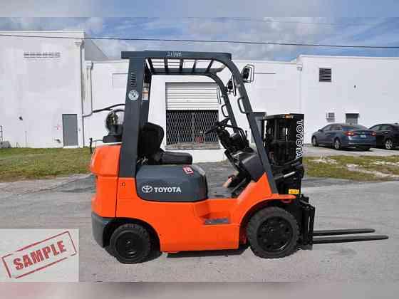 Used TOYOTA 7FGU15 Forklift Fort Lauderdale