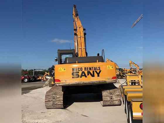 2016 Used SANY SY235C LC Excavator Miami