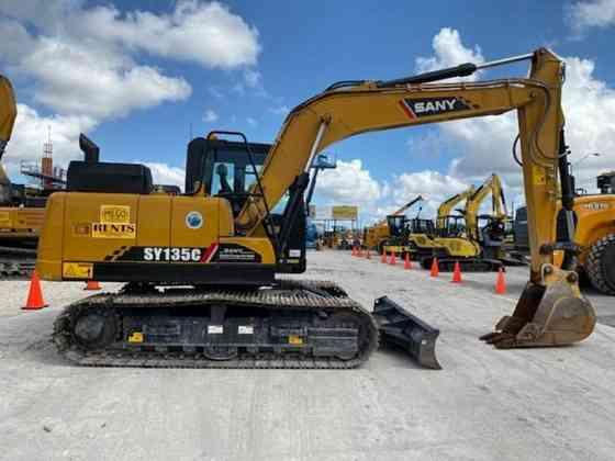 2019 Used SANY SY135C Excavator Miami