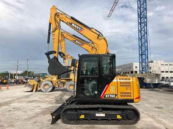 2019 Used SANY SY75C Excavator Miami