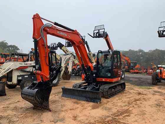 2020 Used KUBOTA KX080-4 Excavator Pensacola
