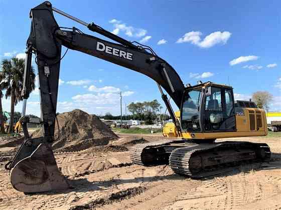 2014 Used DEERE 210G LC Excavator Lakeland