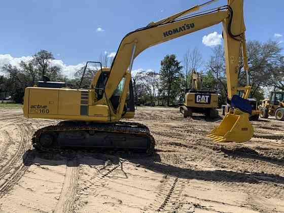2001 Used KOMATSU PC160-6 Excavator Lakeland