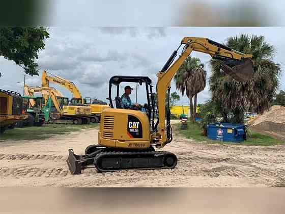 2017 Used CATERPILLAR 303.5E2 CR Excavator Lakeland