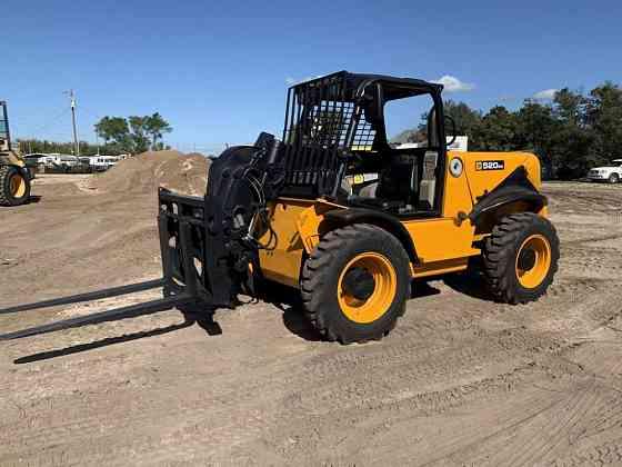 2012 Used JCB 520-50 Telehandler Lakeland