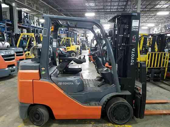 2014 Used TOYOTA 8FGC35U Forklift Atlanta