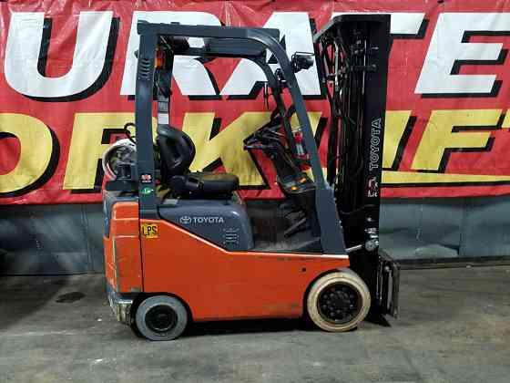 2015 Used TOYOTA 8FGCU15 Forklift Atlanta