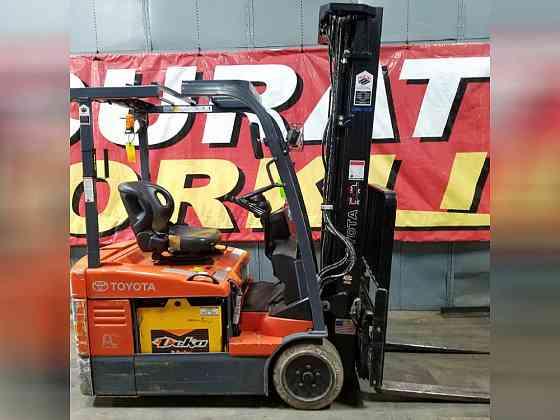 2013 Used TOYOTA 7FBEU15 Forklift Atlanta