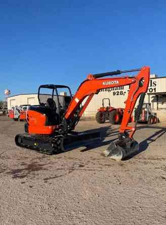 2019 Used KUBOTA U55-4 Excavator Mesa