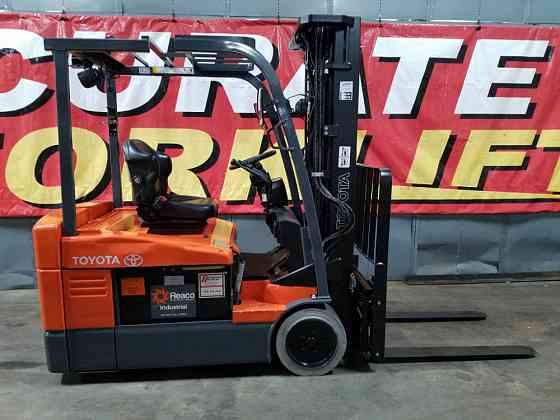 2015 Used TOYOTA 7FBEU20 Forklift Atlanta