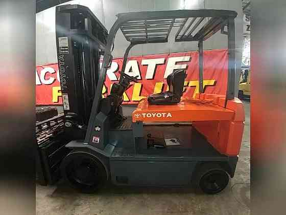 2009 Used TOYOTA 7FBCU55 Forklift Atlanta
