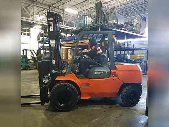 2006 Used TOYOTA 7FDU45 Forklift Atlanta