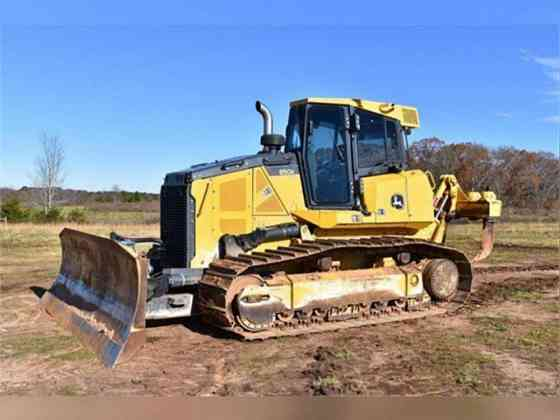 2015 Used DEERE 850K WLT Dozer Monroe, Michigan