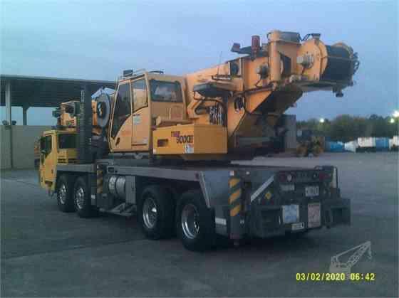 2012 Used GROVE TMS9000E Crane Jacksonville, Florida