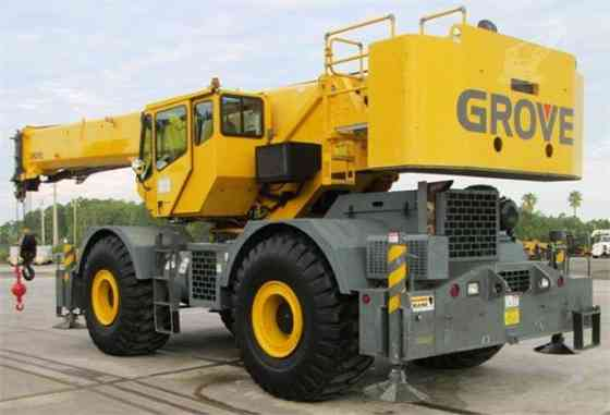2008 Used GROVE RT700E Crane Jacksonville, Florida