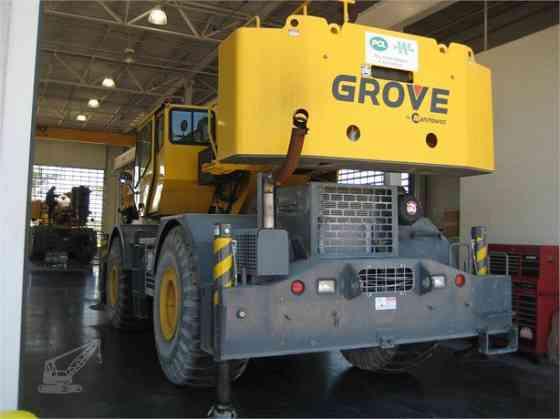 2010 Used GROVE RT700E Crane Jacksonville, Florida