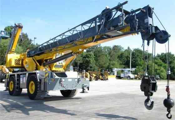 2014 Used GROVE RT600E Crane Jacksonville, Florida