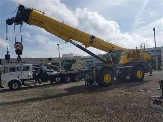 2018 Used GROVE GRT8100 Crane Jacksonville, Florida