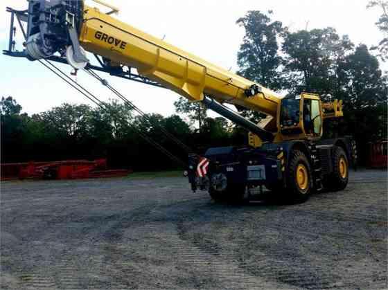 2018 Used GROVE GRT880 Crane Jacksonville, Florida
