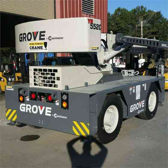 2015 Used GROVE YB5520 Crane Jacksonville, Florida