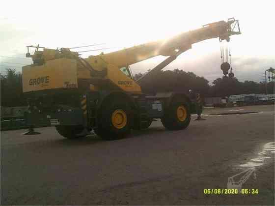 2014 Used GROVE RT880E Crane Jacksonville, Florida