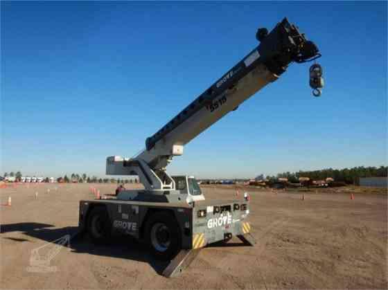 2010 Used GROVE YB5515 Crane Pooler