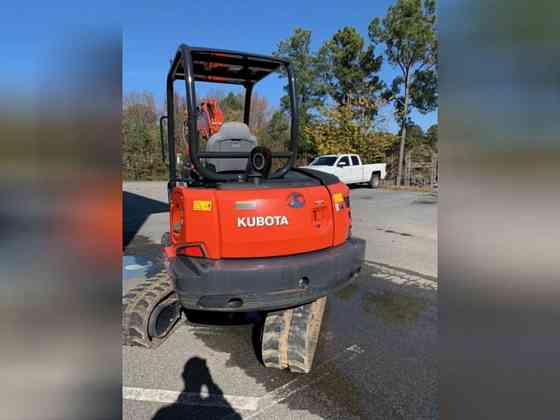 2018 Used Kubota KX040-4R1 Excavator Marietta