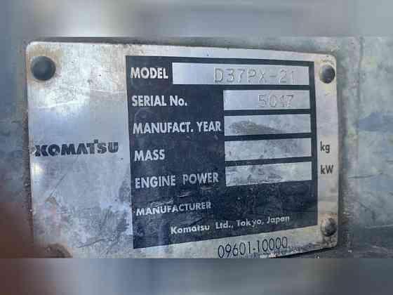 2002 Used Komatsu D37PX-21 Dozer Atlanta