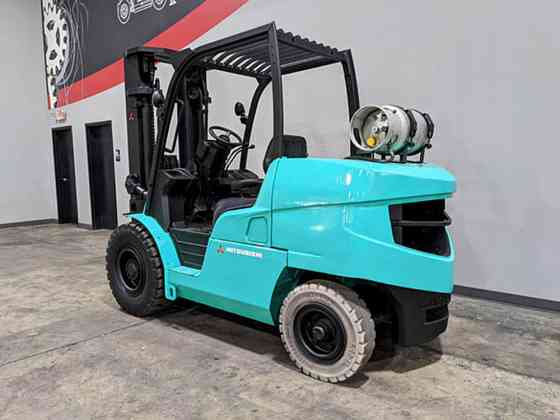 2013 Used MITSUBISHI FG50CN Forklift Cary, Illinois